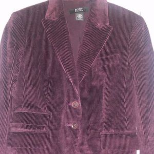 Gorgeous Body by Victoria Corduroy Blazer- Size 6